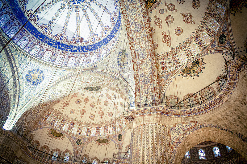 Let VoyJoie travel designers take you here: Blue Mosque in Istanbul Turkey