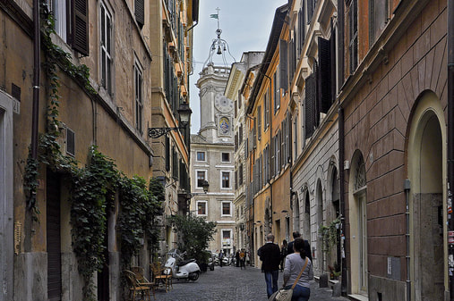 Let VoyJoie travel designers take you here: Monti in Rome Italy